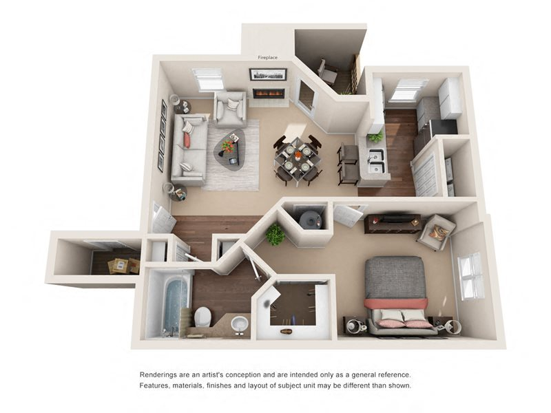 The York Floor Plan 1