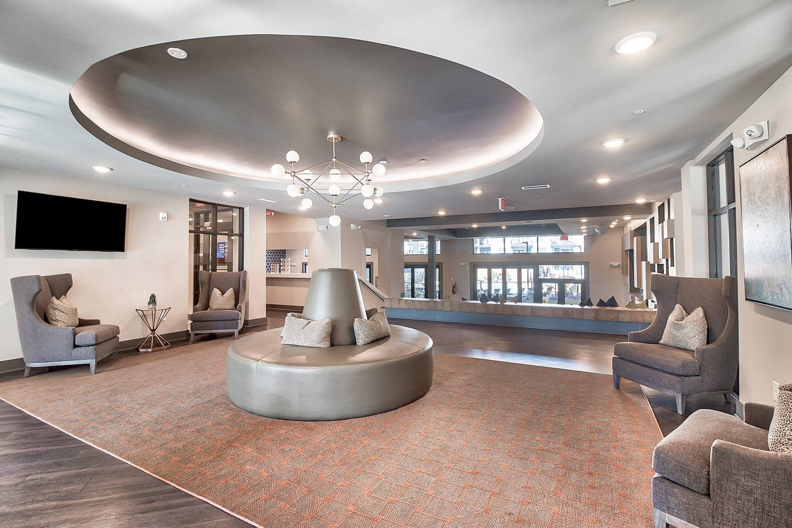 Elegantly Designed Entrance Lounge at Windsor Parkview, Chamblee, 30341