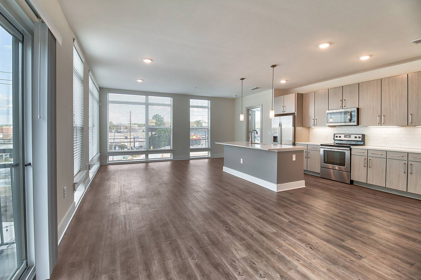 Floor-To-Ceiling Windows in Select Apartments at Windsor Parkview, 30341, GA
