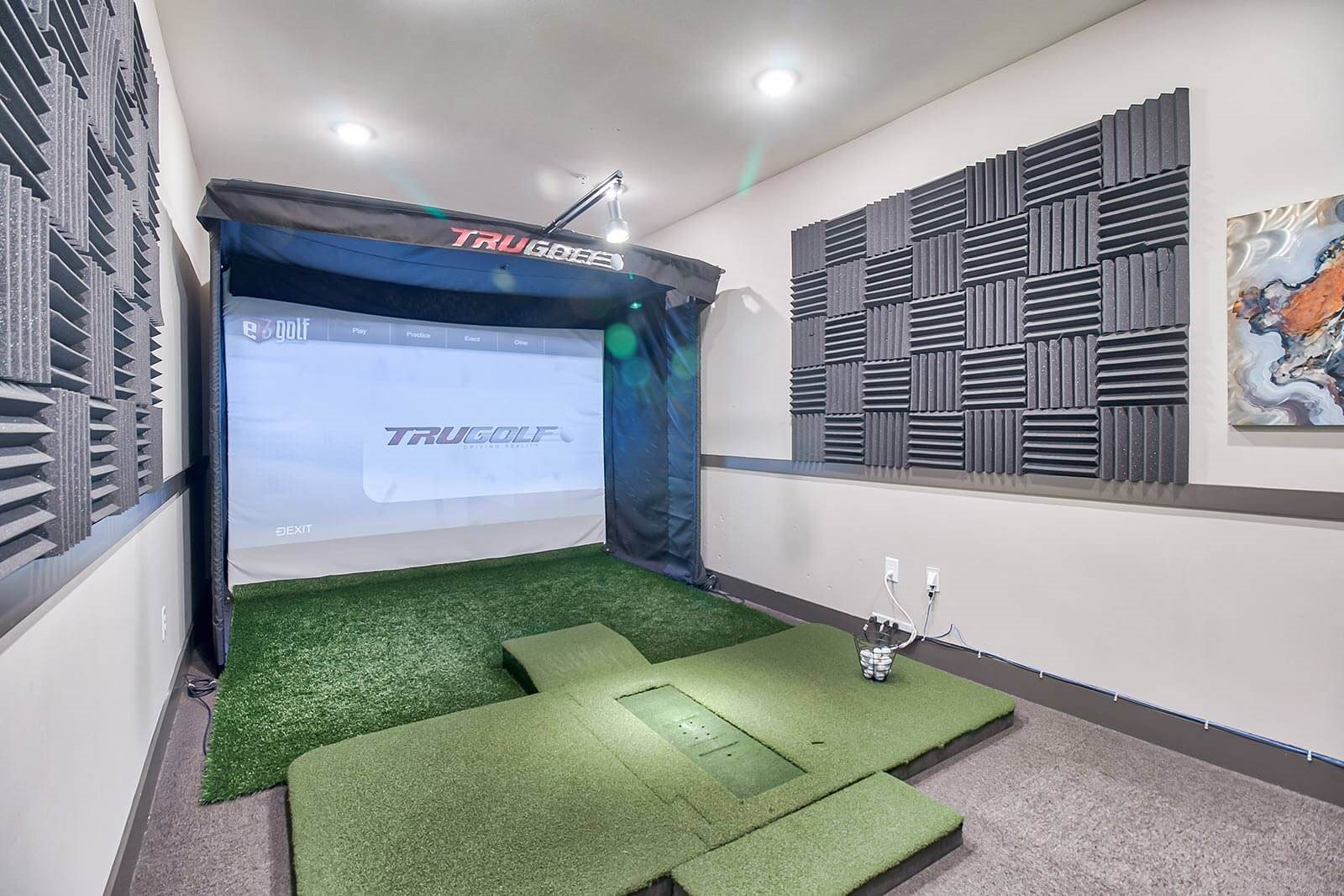 Vista Series Golf Simulator Room at Windsor Parkview, Chamblee, 30341