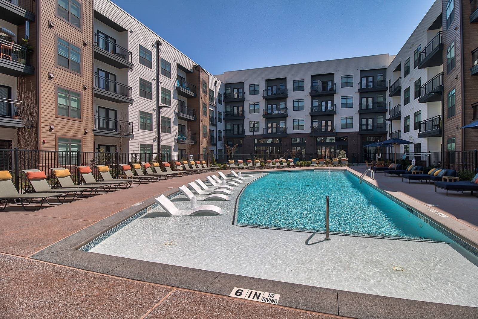 Pool With Sundecks And Cabanas at Windsor Parkview, 30341, GA
