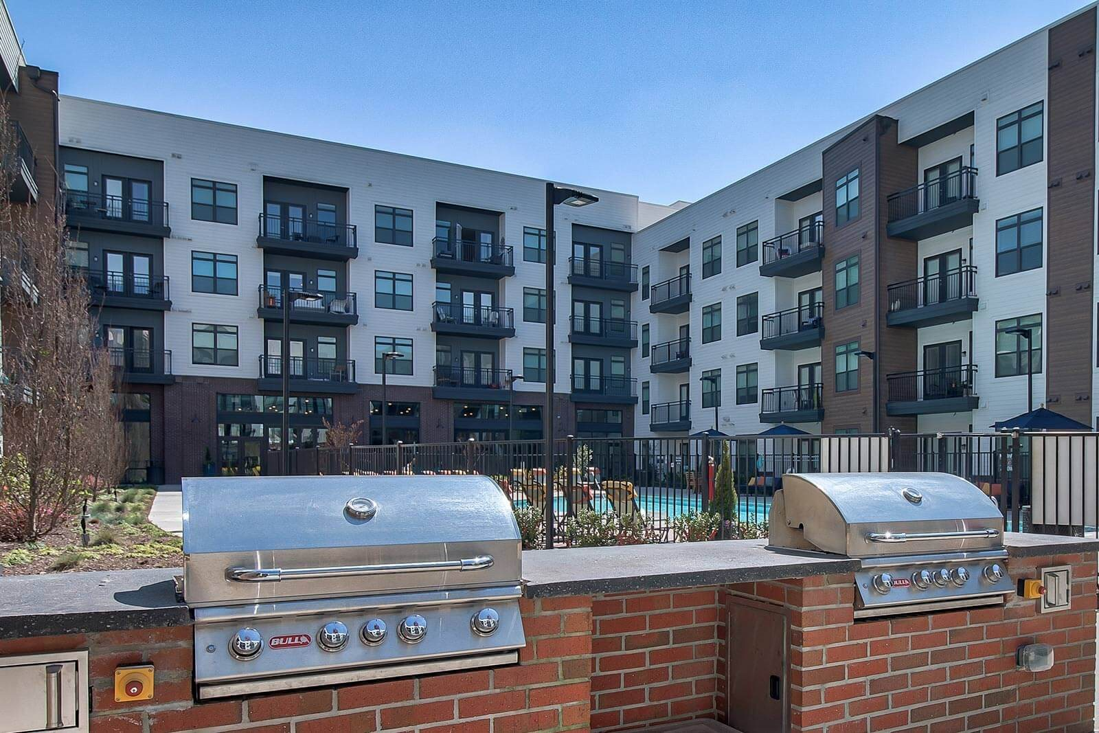 Outdoor Grilling Stations at Windsor Parkview, 5070 Peachtree Boulevard, GA