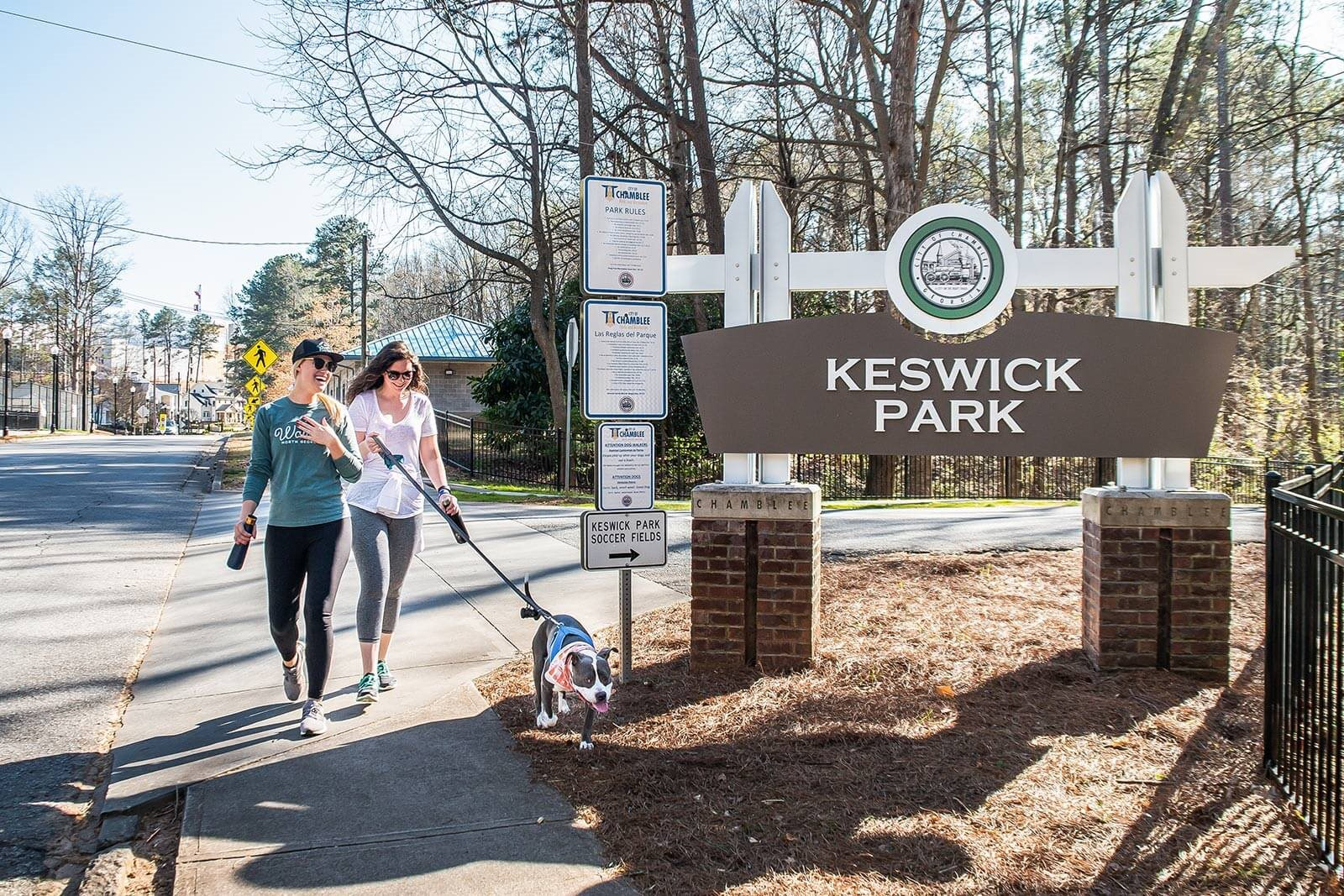 Walking Distance To Keswick Park from Windsor Parkview, 5070 Peachtree Boulevard, GA