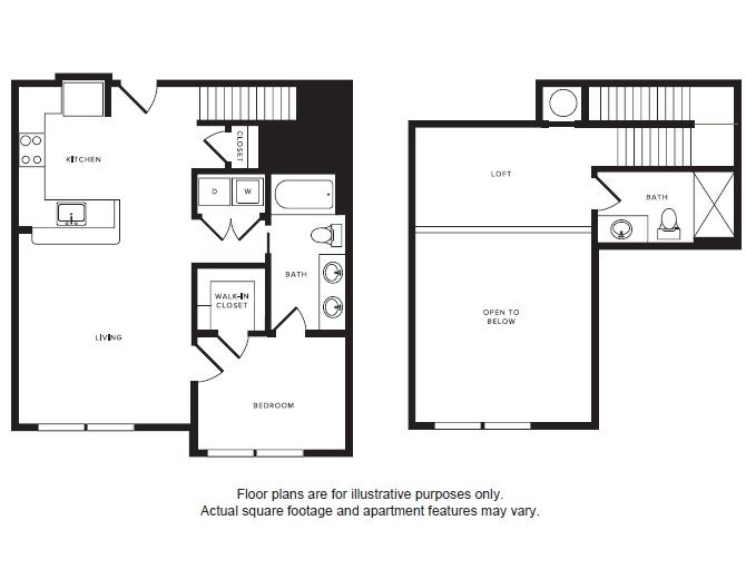 A6L floor plan at Windsor Shepherd, Texas, 77007