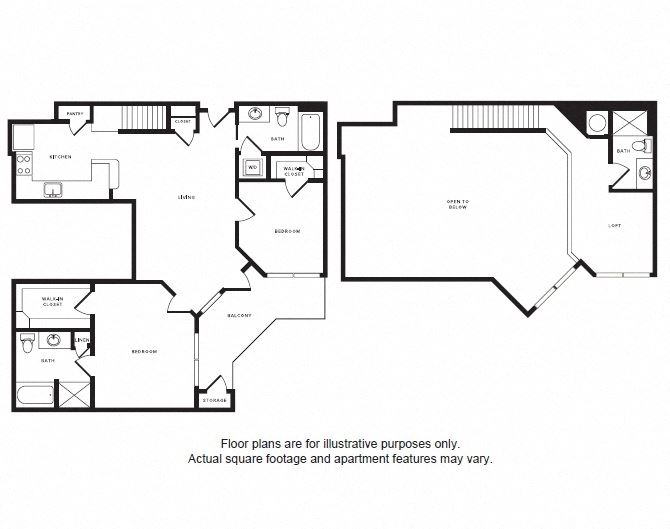 B2L floor plan at Windsor Shepherd, Texas, 77007