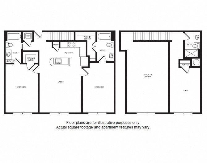 B3L floor plan at Windsor Shepherd, Houston, TX