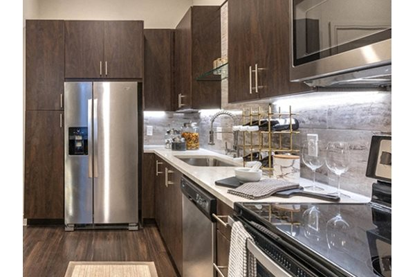 Fully Equipped kitchen at Windsor Turtle Creek, Dallas