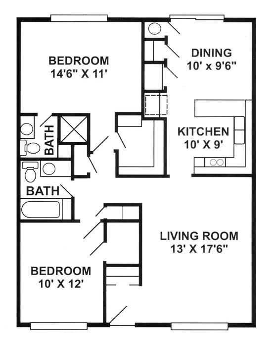 Granada Floor Plan 3