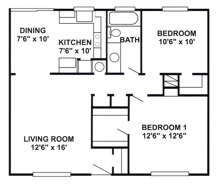 Kingston Floor Plan 6