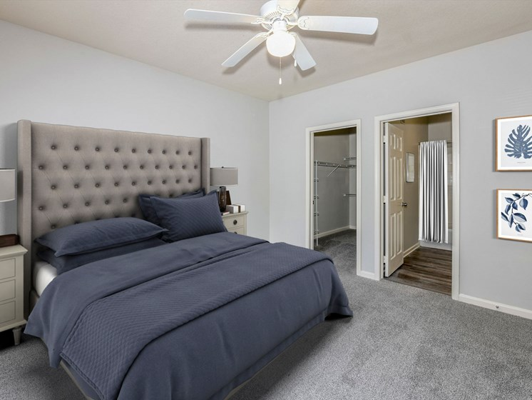 Large Bedrooms in our Apartments at The Finley in Jacksonville