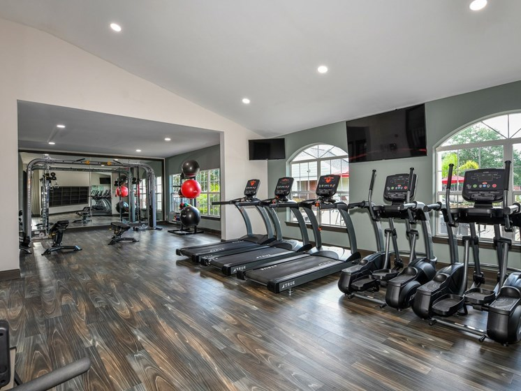 Fitness Center with Cardio Equipment at The FInley, Jacksonville, FL  32210