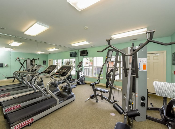 Our 24-hour fitness center is being updated and expanded to give you a supreme workout at The Finley Apartment Homes, Jacksonville, FL 32221