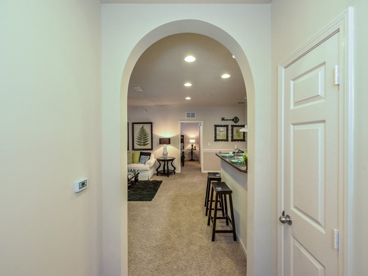 Unique arched doorways throughout our homes at The Finley Apartment Homes, Jacksonville, FL 32221