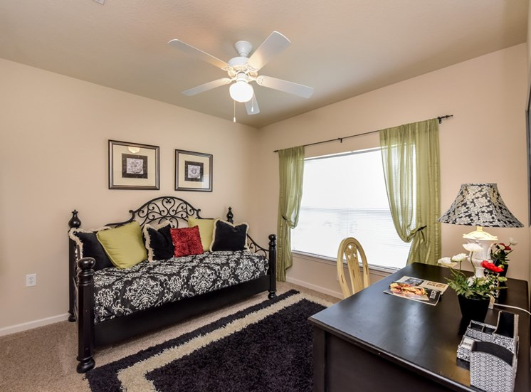 Large bedrooms with Ceiling Fans at The Finley Apartment Homes, Jacksonville, FL 32221