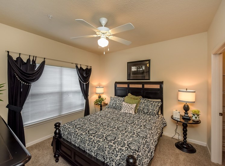 Amble room for plenty of bedroom furniture and space at The Finley Apartment Homes, Jacksonville, FL 32221