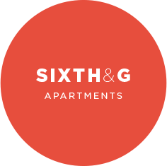 Sixth and G Logo at 6th and G Apartments in San Diego, CA