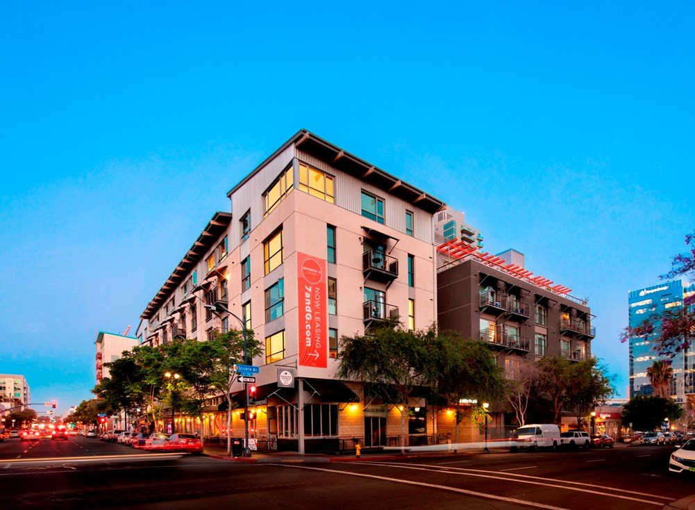 Downtown San Diego Apartments for Rent | 7th & G