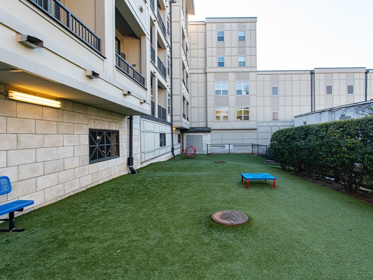 Dog Park at St. Marys Square Apartments, Raleigh, 27605