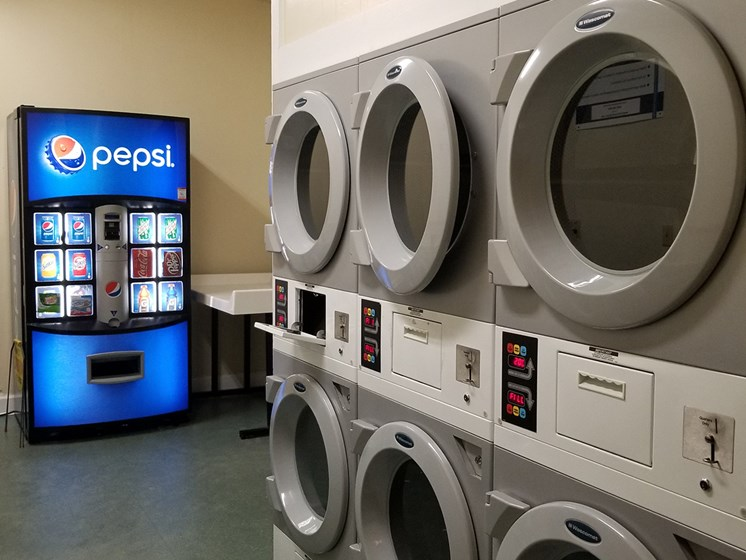 laundry center on-site at Heritage Park Apartments in Tallahassee, FL 32304