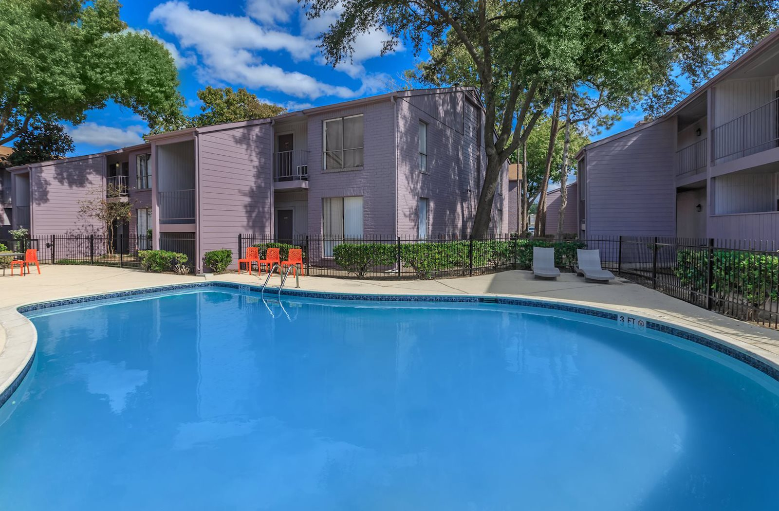 Resort Style Pool at Olympia Flats, Houston, TX, 77077