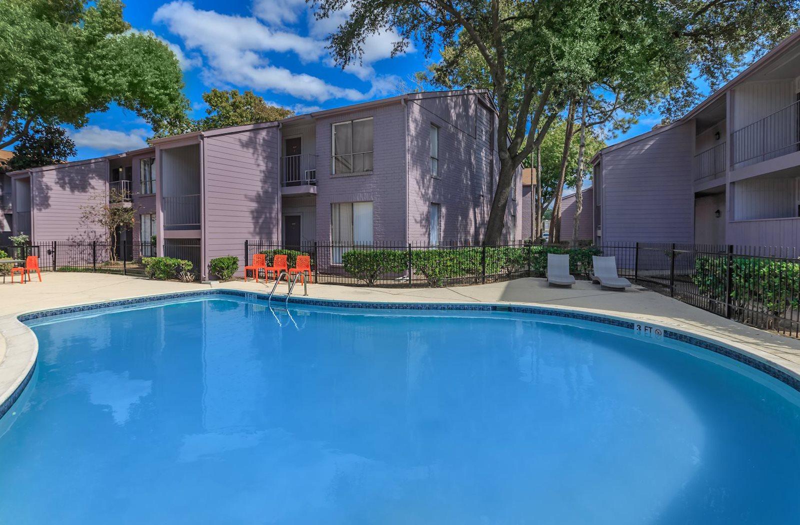 Resort Style Poolat Olympia Flats, Houston, TX, 77077