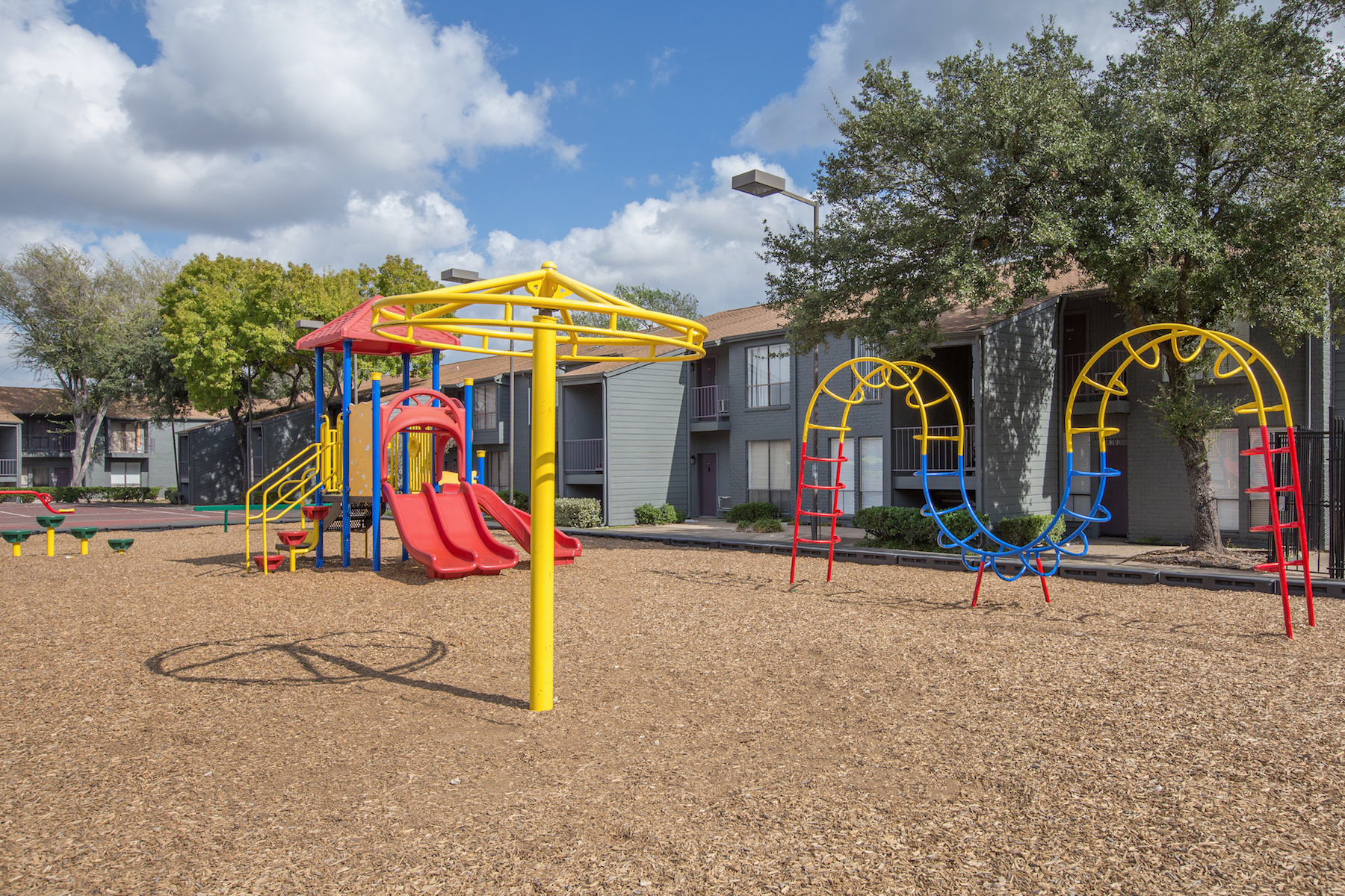 Play Structure at Westside Flats, Houston, TX