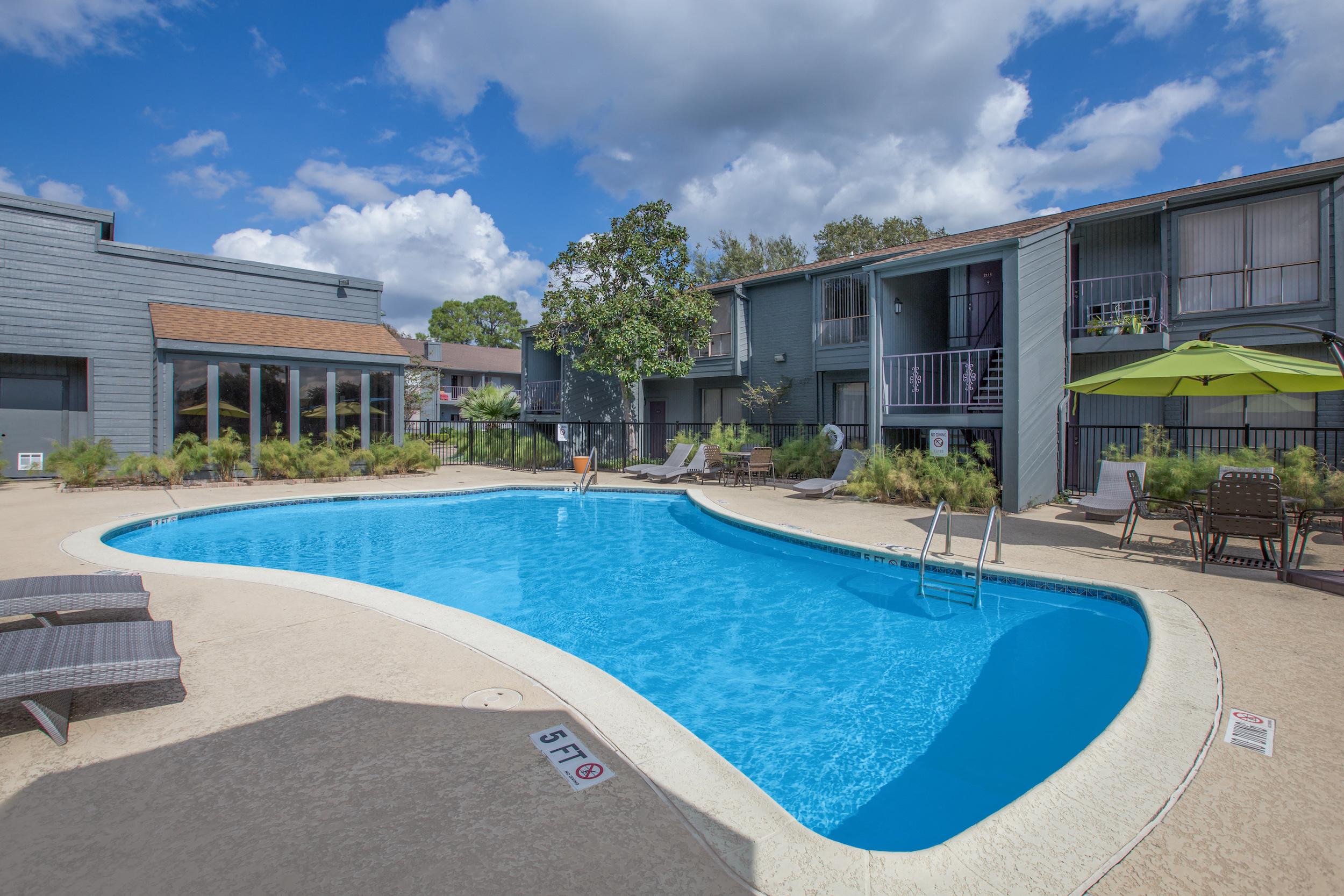 Resort Style Pool at Westside Flats, Texas, 77077
