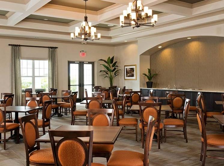 Beautiful dining room at Diamond Oaks Village, Florida, 34134