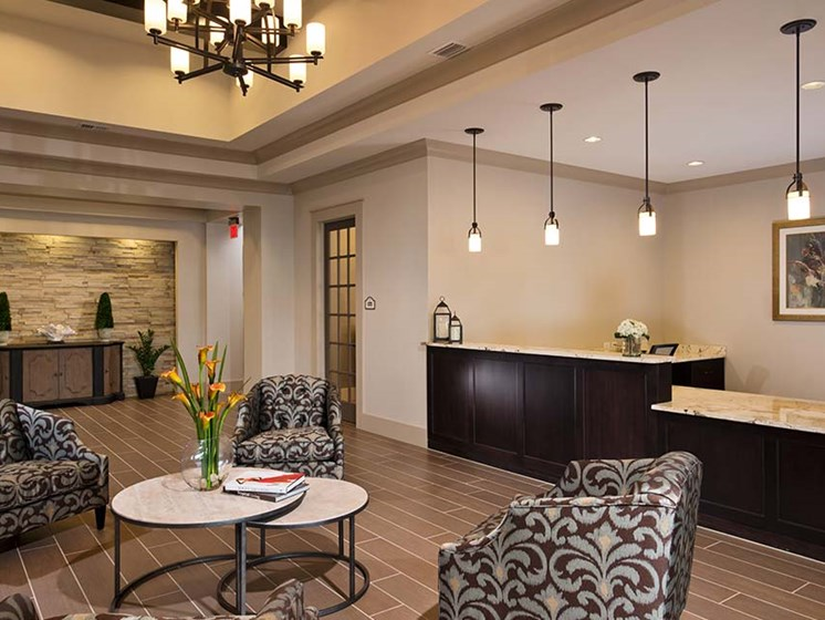 Community room at Diamond Oaks Village, Bonita Springs