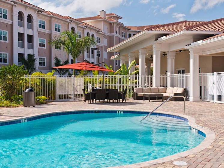 Resort-Style Pool at Diamond Oaks Village, Bonita Springs, 34134