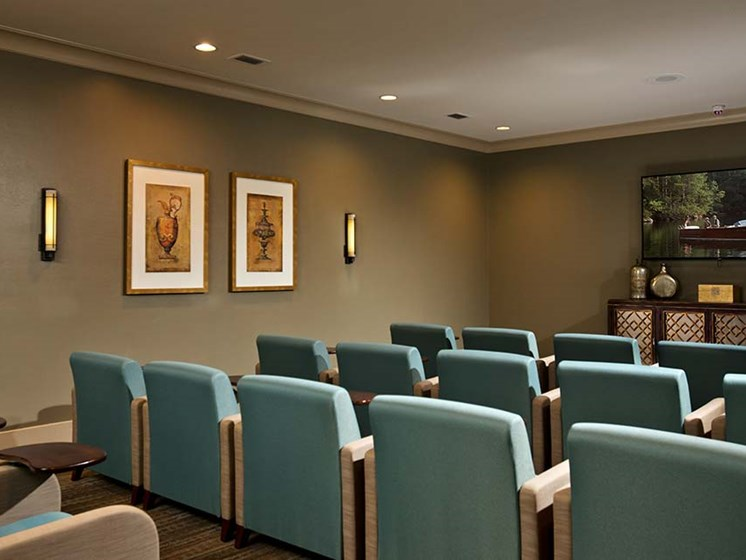 Theater Room at Diamond Oaks Village, Bonita Springs, 34134