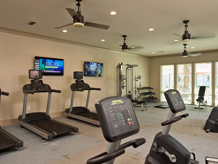 Cardio Equipment at Diamond Oaks Village, Bonita Springs, Florida