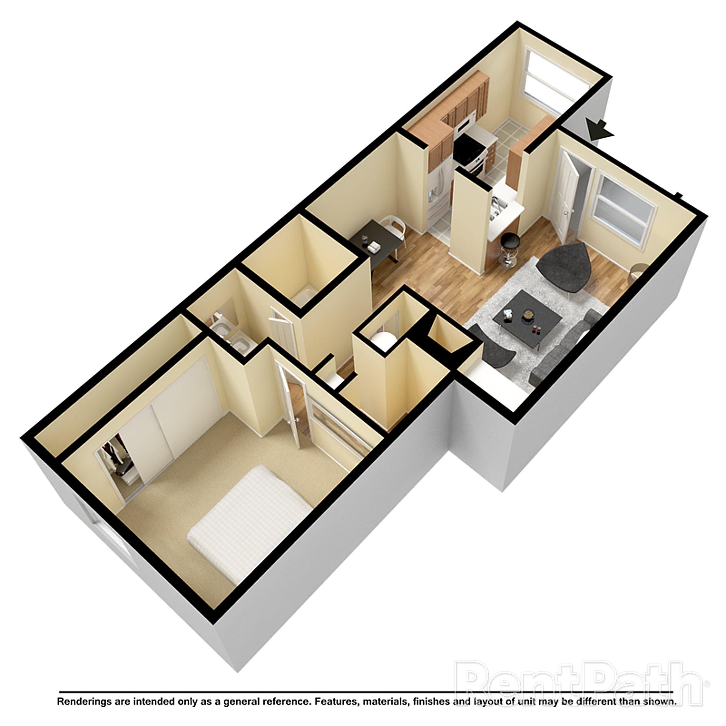 Mesa Village Apartments: Floor Plans Of Woodstream Village In Mesa, AZ