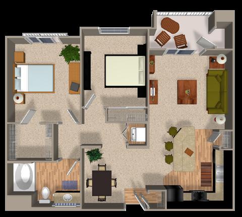 CONSERVE Floor Plan 3