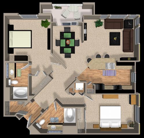 ELEMENT Floor Plan 7