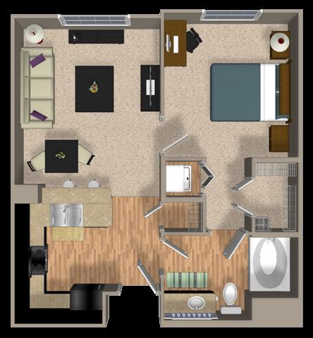 PRESERVE Floor Plan 4