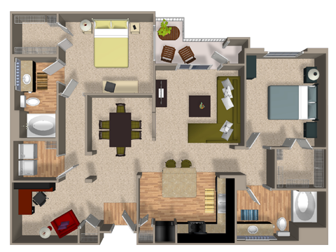 RESTORE Floor Plan 6