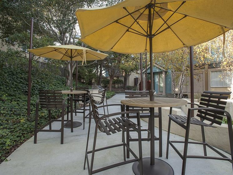 Patio with Grilling Station at Pacific Vista, Monterey, CA, 93940