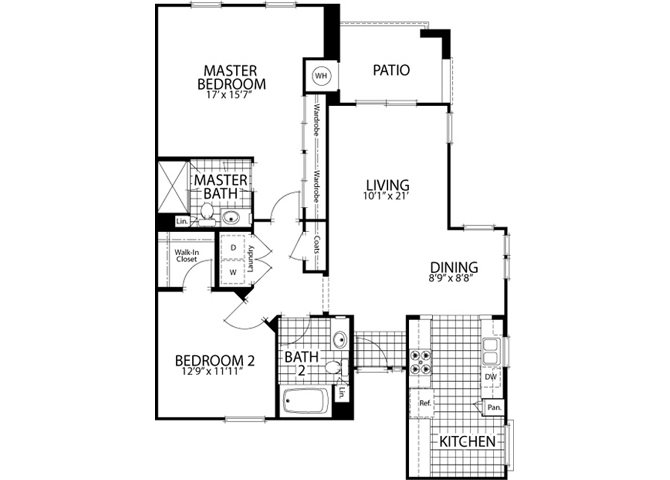 Oak Floor Plan 7