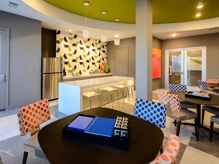Plenty of Space for Entertainment at Harmony Luxury Apartment's Brand New Clubhouse!
