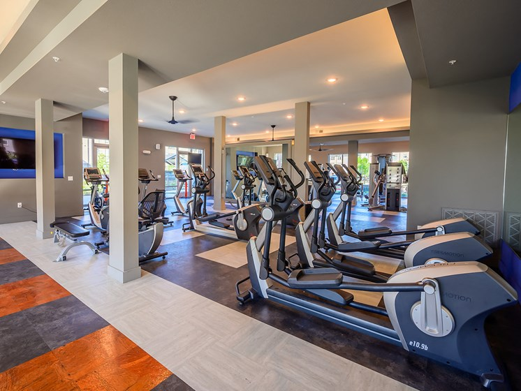 Brand New Fitness Center with FreeMotion Cardio Equipment