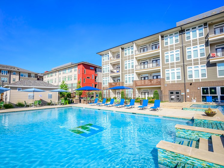 At Harmony Luxury Apartments, It's Always Pool Season!