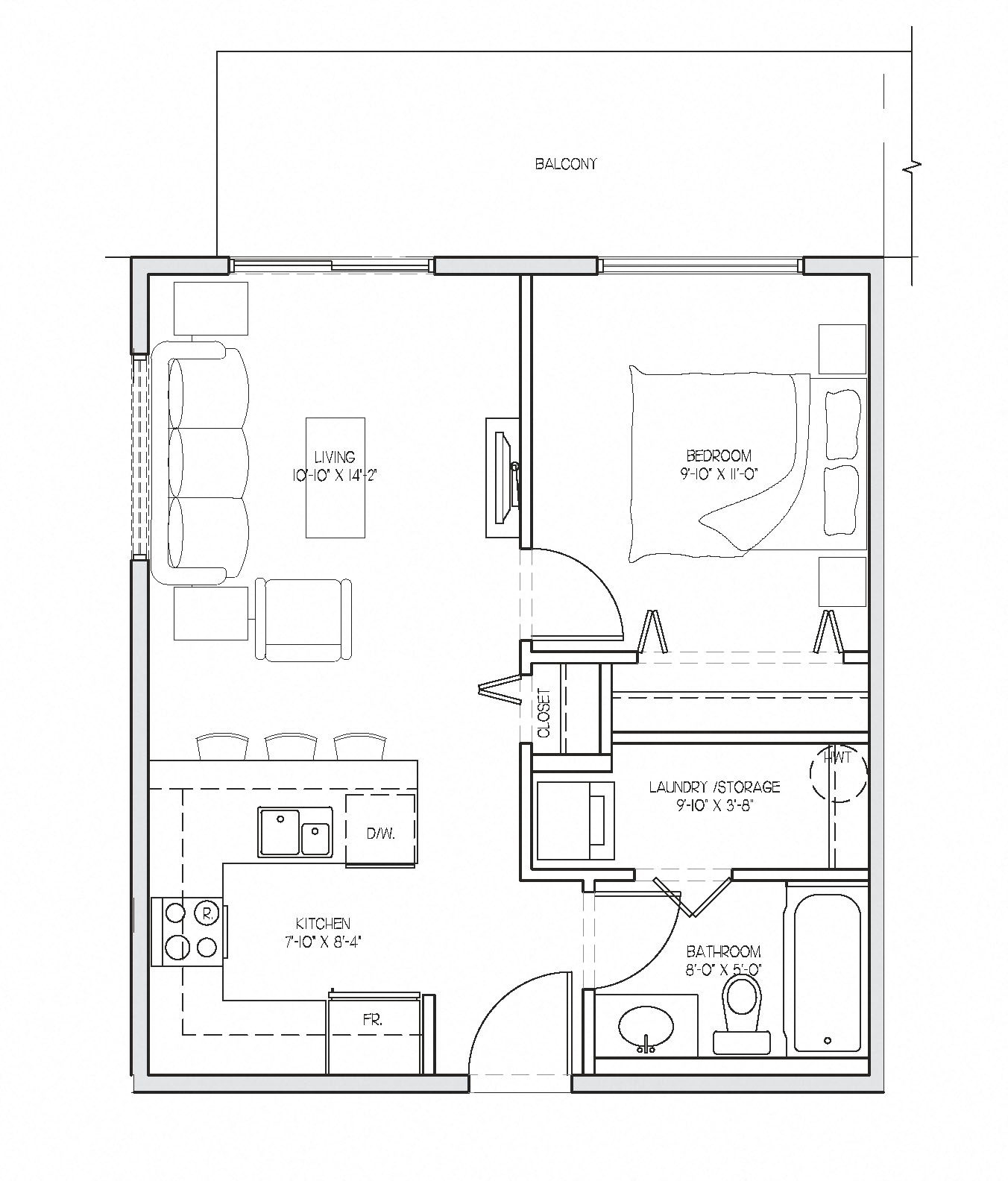Floor Plans Of Summerhill Place In Nanaimo, BC