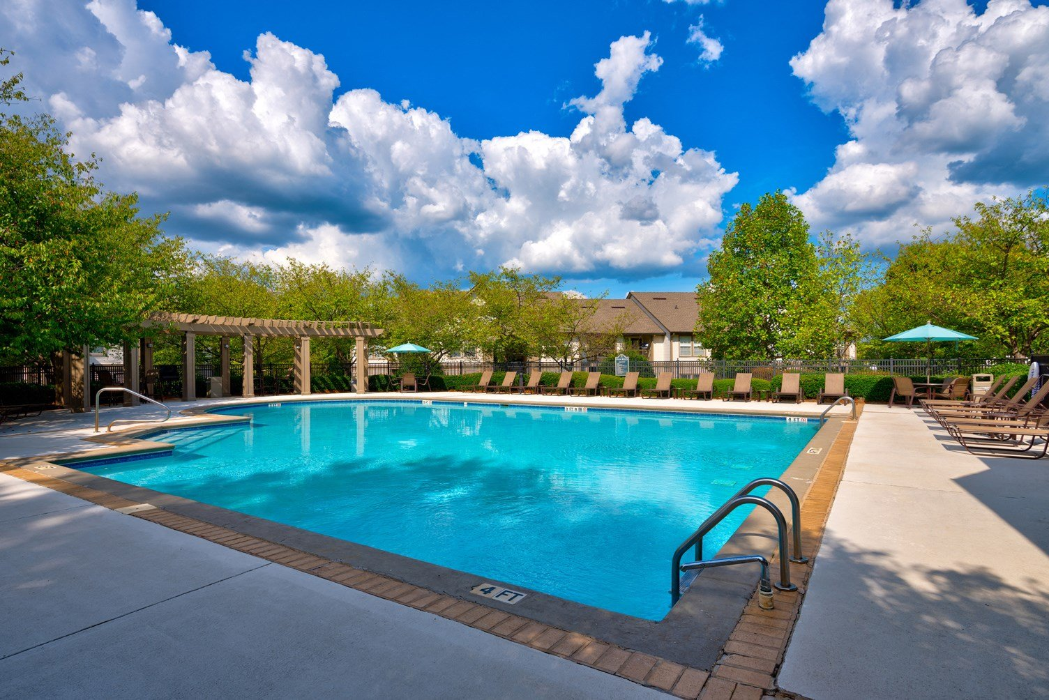 Swimming Pool at 150 Summit Apartments in Birmingham, AL