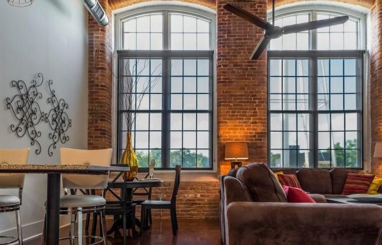 Drayton Mills Lofts Living Room