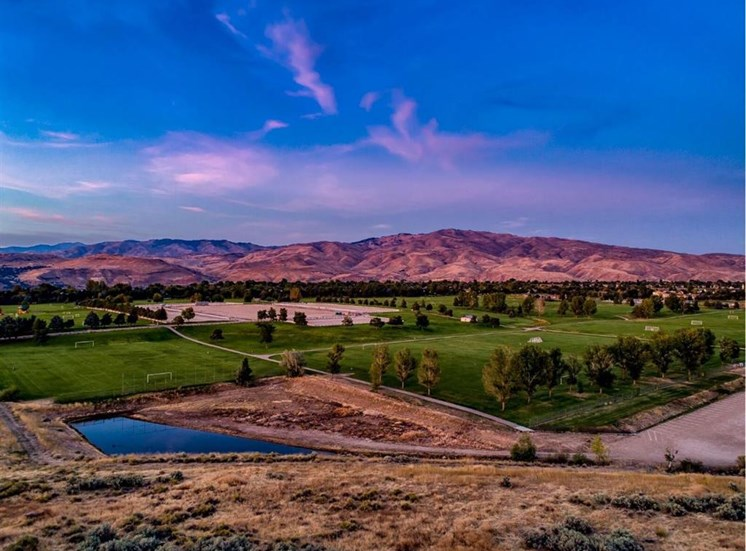 Mountain views from Property at Columbia Village, Boise, ID, 83716