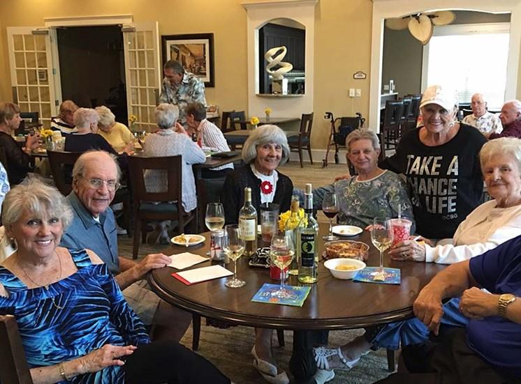 Senior living at Sandalwood Village, Naples, FL