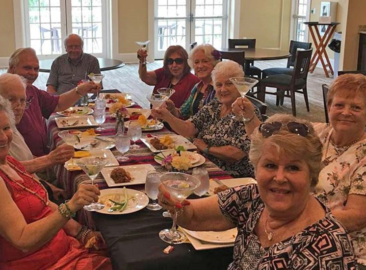 Residents Well-Being at Sandalwood Village, Florida