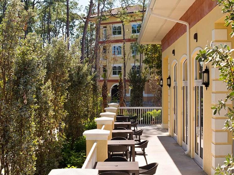 Balcony at Sandalwood Village, Naples, FL