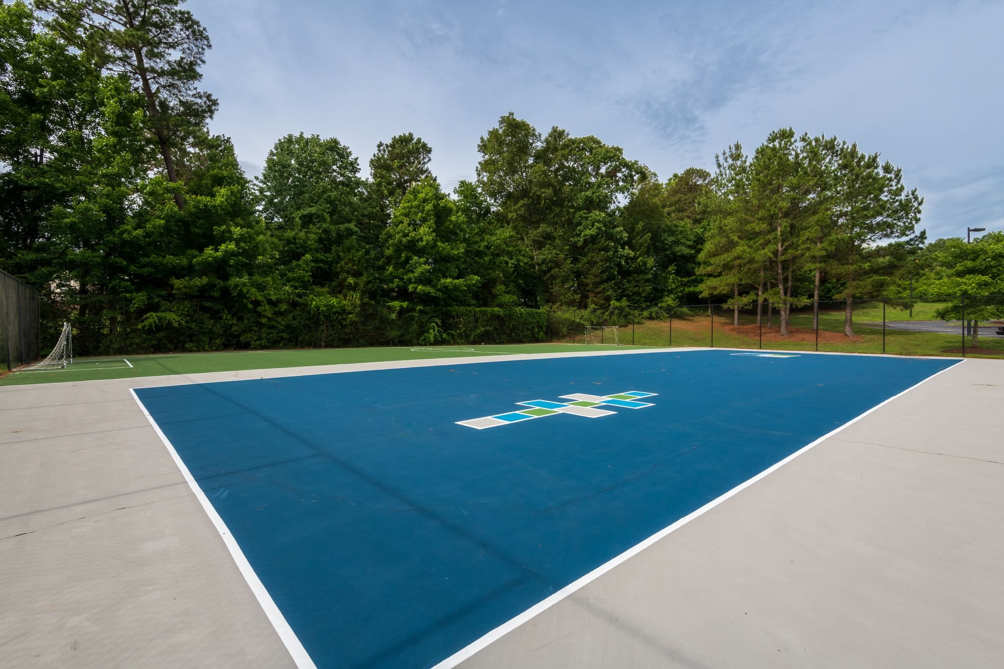 Tennis Court at Mission Triangle Point